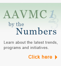 AAVMC By the Numbers | Learn about the latest trends, programs and initiatives | Click Here
