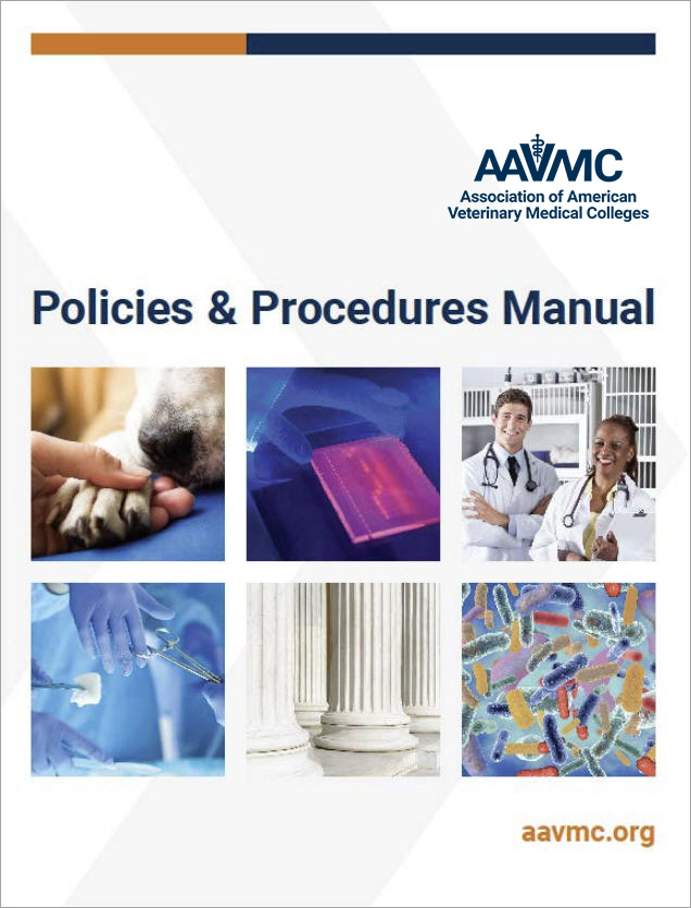 AAVMC Policies & Procedures Manual